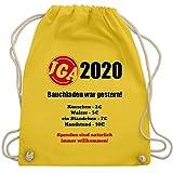 Shirtracer JGA Junggesellenabschied Männer - Bauchladen war gestern! 2020 - Unisize - Gelb -...