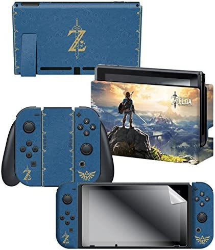 Controller Gear Nintendo Switch Skin Screen Protector Set Officially Licensed By Nintendo The product image