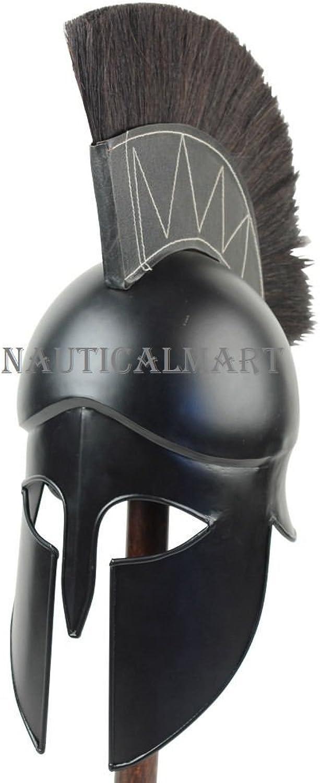 NauticalMart Medieval Dark Legionnaire Greek Corinthian Helmet
