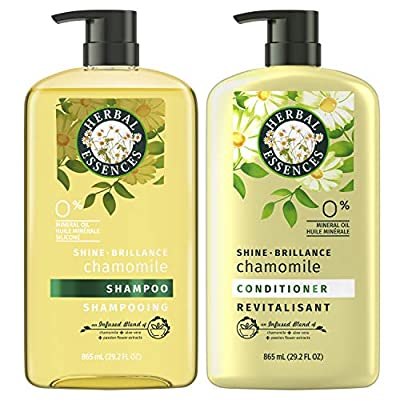 Herbal Essences Shine Collection Shampoo and Conditioner Bundle, with Chamomile, Color Safe, 29.2 Fl Oz from AmazonUs/PRFZ7