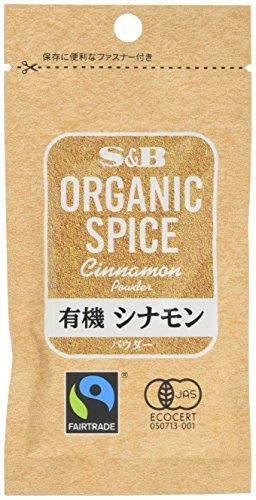 S&B ORGANIC SPICE 袋入り有機シナモン(パウダー) 15g×5個