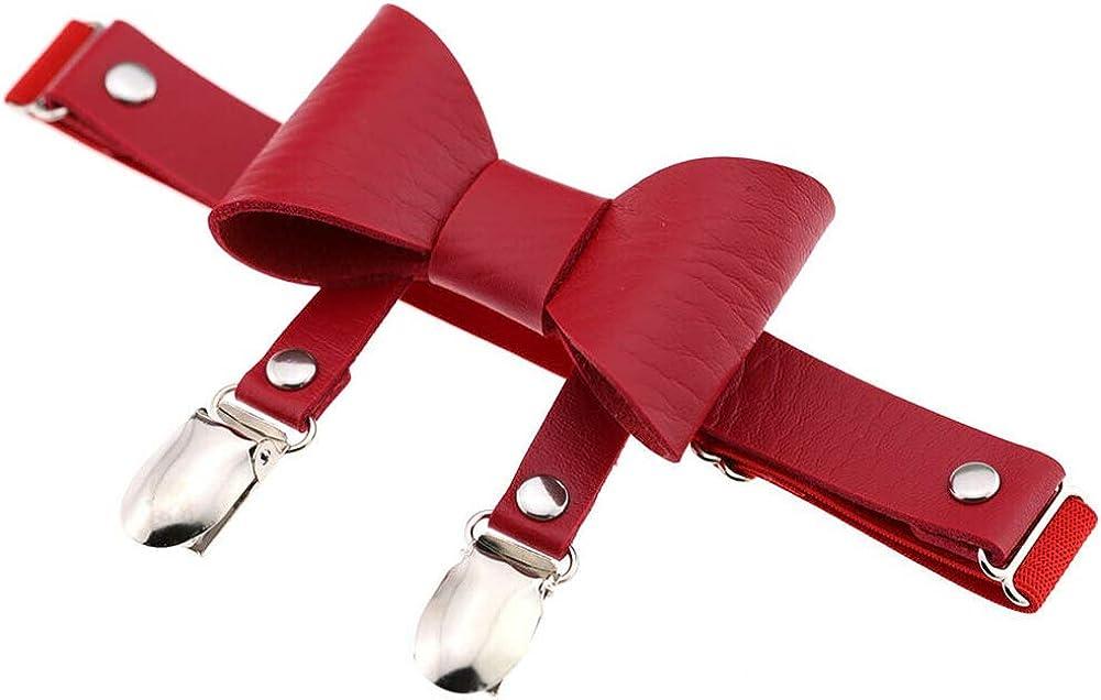 Sexy Women Garter Belt Punk Leather New mail order Rivet Leg 70% OFF Outlet Ring Harness Bowkn