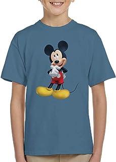 Disney Mickey Mouse Thinking Pose Kid's T-Shirt