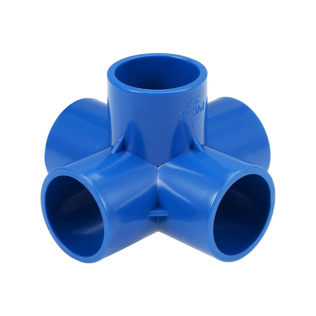 Pipe Fittings 5-Way Elbow PVC Fitting 50mm Socket Tee Corner F New 35% OFF sales