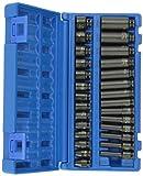 Grey Pneumatic (9728M 1/4' Drive 28-Piece Deep Length Metric Master Socket Set