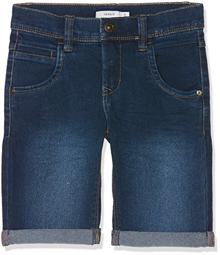 Name IT NOS Jungen Shorts Nkmsofus Dnmtax 2012 Long Noos, Blau (Medium Blue Denim), (Herstellergröße: 122)