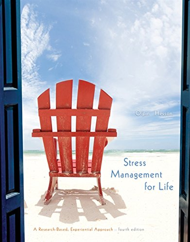 Download Stress Management for Life: A Research-Based Experiential Approach 1305120590