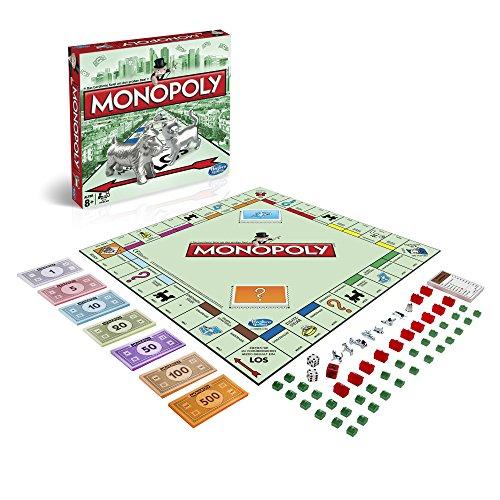 Hasbro Spiele 00009398- Monopoly Classic, Familienspiel
