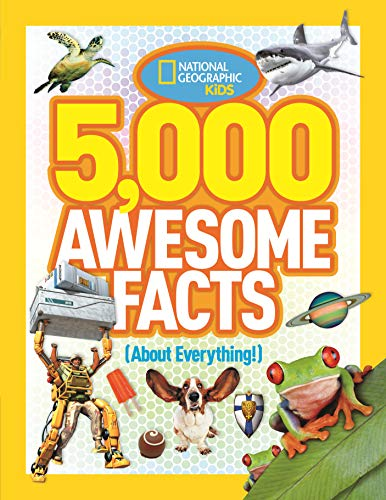 Product Image of the 5,000 Awesome Facts (About Everything!) (National Geographic Kids)