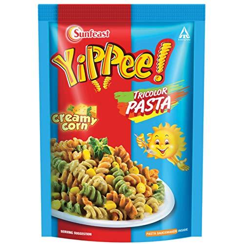 Sunfeast Yippee Tricolour Pasta - Creamy Corn, 70g