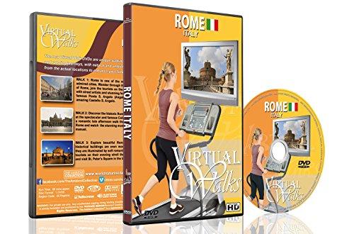Virtuelle Spaziergänge – Rom, Italien – Für Indoor Walking, Laufband und Fahrrad Workouts