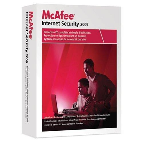 McAfee internet security 2009 (1 poste, 1 an)