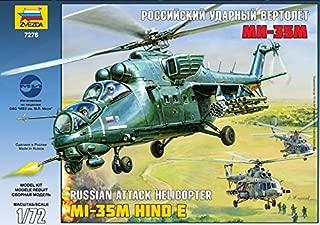 ZVEZDA 7276 MIL MI-35 HIND E MODEL KIT 1/72 RUSSIAN ATTACK HELICOPTER
