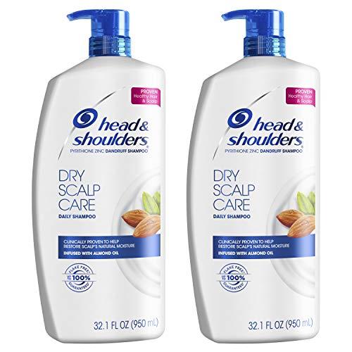 Head and Shoulders Shampoo, Anti Dandruff Treatment, Dry Scalp Care, 32.1 fl oz, Twin Pack