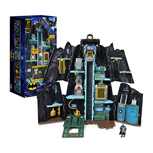 DC Comics Batman, Bat-Tech Batcave, Giant Transforming...