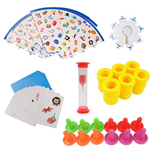 freneci Montessori Puzzle Kids Detectives Looking Chart Juego de Divertido Juego Educativo