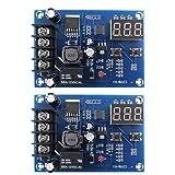 Runfon Carga de la batería módulo de Placa XH-M603 12-24 Interruptor de Control de Carga de tensión Protectora de Ajuste 2pcs
