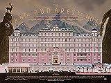 BOIPEEI Rompecabezas del Hotel Grand Budapest, Rompecabezas de Madera de 1000 Piezas, Muy desafiante, para Adultos y Adolescentes, Rompecabezas Informal, 50X75Cm