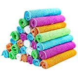 ghfcffdghrdshdfh Bamboo Dish Cloths Cleaning Cloth and Dishcloths Sets Super Absorbent Towels