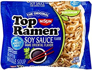 Nissin Top Ramen Noodle Soup, Oriental, 3 Ounce (Pack of 24)