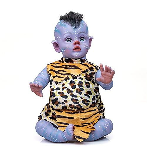 Xyfw 12 Pulgadas Hecho A Mano Pintura Detallada Hada Avatar Muñecas Realista Real Soft Touch Pequeña Muñeca Linda Bebé Práctico
