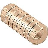 GNB Los Regalos creativos delicados Código Da Vinci Cryptex de mecanizado CNC,Oro