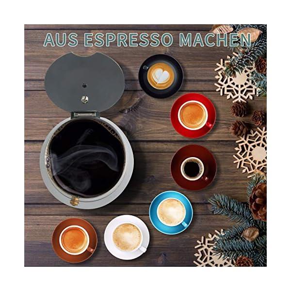 CHISTAR Cafetera Italiana Moka Cafeteras Espresso Induccion 6 Tazas
