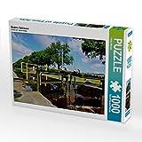 CALVENDO Puzzle Esders Schleuse 1000 Teile Lege-Größe 64 x 48 cm Foto-Puzzle Bild von Heinz Wösten