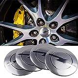 4pcs 56mm Aplicar coches for centro de rueda de casquillos de eje cubierta del centro de la divisa del emblema engomada, for Opel Zafira a b Astra h g j k f Mokka Corsa b c d Vectra Insign tapas para