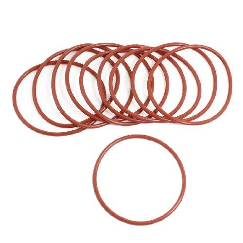 10x Rot Gummi 68mm x 3mm x 62mm Oil Sealing O-Ringe Dichtungen Unterlegscheiben de
