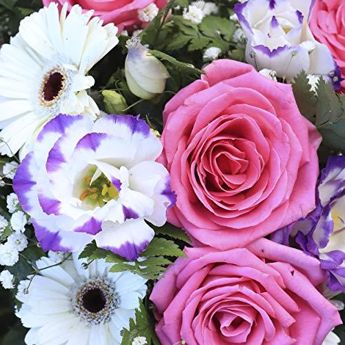 20 Lunch Servietten Gartenblumen Blumenstrauß Vintage 33 cm