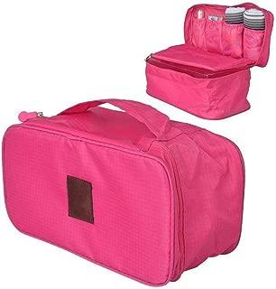 Travel Underwear Bag Organizer light pink