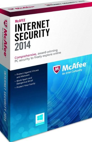 McAfee Internet Security 2014 - 3 User [import anglais]