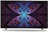 QDY Smart TV de 32/42/50 polegadas, Tela Ultra-Clara + painel de Qualidade de imagem HDR, Tela rígida IPS, tecnologia de decodificação H.265, USB, HDMI, Interface AV, 600cd / ㎡ brilho, TV de