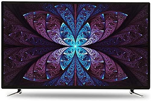 QDY Smart TV TV LCD WiFi Curva de 50 polegadas, resolução de 1920 * 1280, Tela de computador com Qualidade de imagem HDR, Controle de Voz, TV de projeção de telefone móvel