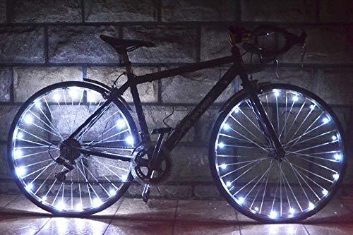HUGEE Luz de Rueda de Bicicleta - Decoración de Eadios para