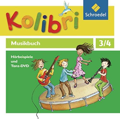 Price comparison product image Kolibri - Musikbuch 3 / 4. Hörbeispiele und Tanz- 4 CD`s+1 DVD. Allgemeine Ausgabe: Ausgabe 2012