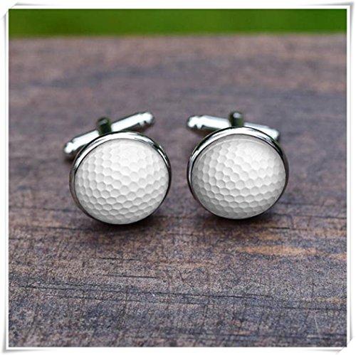 Beautiful Dandelion Gemelos de golf, Gemelos de pelota de golf, Golf Club de golf Joyería