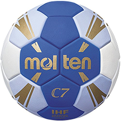 Molten C7 Trainingsball blau/weiß/Gold 0, H0C3500-BW