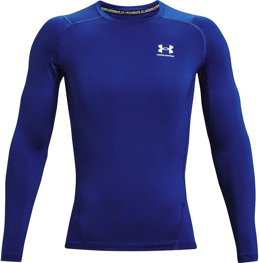 Under Armour 55% OFF Men's HeatGear T-Shirt Denver Mall Compression Long-Sleeve
