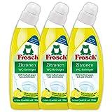 Frosch Zitronen WC-Reiniger 750 ml, 3er Pack (3x750ml)
