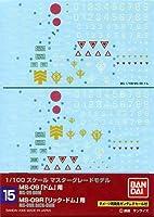 1/100 ガンダムデカール MG ドム・リックドム用 (15)