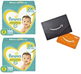 Diapers Size 2, 186 Count - Pampers Swaddlers Disposable Baby Diapers, ONE Month Supply with Amazon.com Gift Card in a Mini Envelope