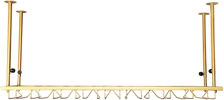 Fine Iron gold Suspension Freely Adjustable for Market Regular Goblet 4 Sizes Available (Size   60  35cm)