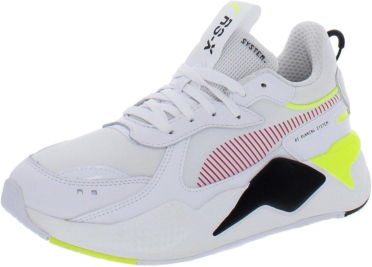 PUMA Womens RS-X Patent Lifestyle Chunky Platform Sneakers