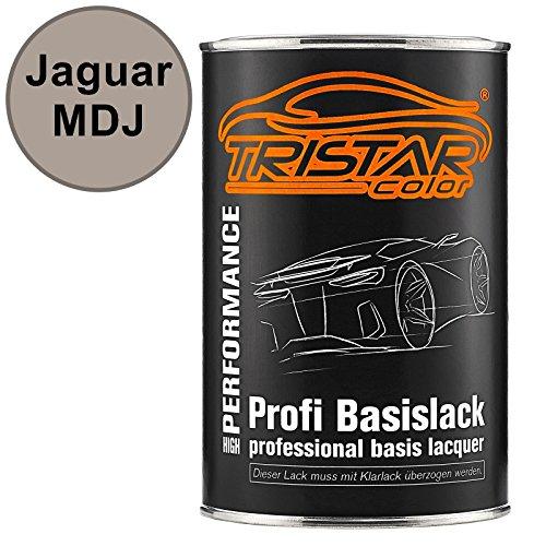 TRISTARcolor Autolack Dose spritzfertig für Jaguar MDJ Silver Birch Metallic Basislack 1,0 Liter 1000ml