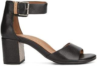 by Kenneth Cole Women's CHRISTA OPEN TOE BLOCK HEEL DRESS SANDAL Sandal, black, 7.5 M US