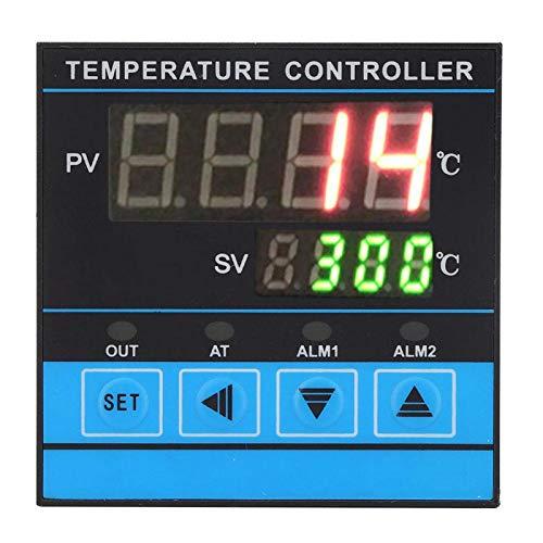 Controlador de temperatura PID, controlador de temperatura inteligente, equipo industrial AC220V de señales múltiples para el uso de diferentes aplicaciones