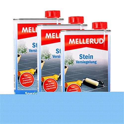 3x Mellerud Stein Versiegelung 500 ml - Farbloser und wasserfester Langzeitschutz