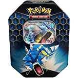 Pokemon SM11.5 Hidden Fates Gx Tin- Gyardos + 1 of 3 Foil Pokémon-GX Cards + 4 Booster Pack